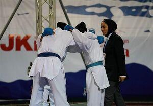 بانوان کاراتهکای ایران قهرمان آسیا شدند