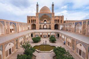 عکس/ کاشان، شهر معماریهای شگفتانگیز