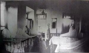 پرستاران در بیمارستان زنان و زایمان اواخر قاجاریه