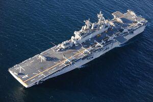 غول نبردهای آبی - خاکی ارتش آمریکا هم حریف سپاه نشد/ راز پیام دروغ USS Boxer به کاخ سفید +عکس و فیلم