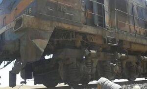 حمله تروریستها به قطار حامل فسفات در سوریه