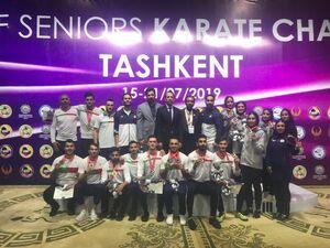 کاراتهکاهای ایران بر بام آسیا ایستادند