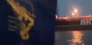 پخش اذان از نفتکش توقیف شده انگلیس +فیلم