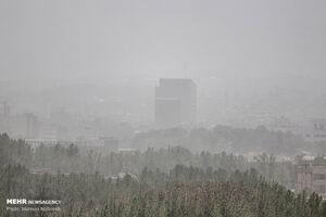 عکس/ خسارات طوفان گرد و غبار در بیرجند