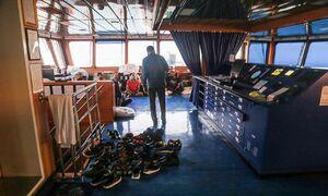 عکس/ خدمه کشتی توقیف شده انگلیسی