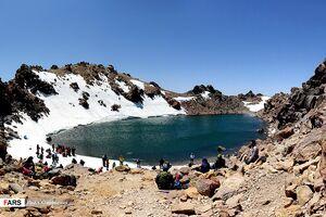 فیلم/ دومین دریاچه مرتفع جهان در اردبیل