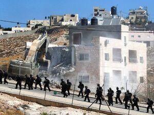 عملیات تخریب منازل فلسطینیها در حومه بیتالمقدس