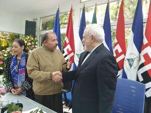عکس/ دیدار ظریف با رییس جمهور نیکاراگوئه