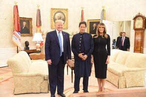 دیدار عمران خان با ترامپ