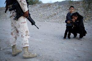 تصویری دردآور از یک زن مهاجر
