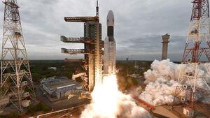 چاندرایان -۲ به فضا رفت