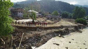 خسارت شدید سیل در شمال ترکیه
