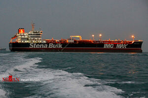 تصاویر جدید از نفتکش انگلیسی در بندرعباس
