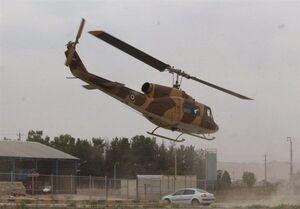 عکس/ ورود بالگردهای نهاجا برای اطفای آتش سوزی