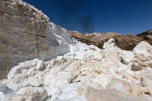 فیلم/ ریزش غار یخی در کوهرنگ
