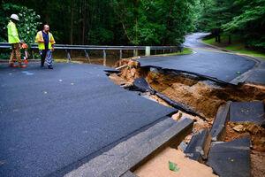 عکس/ طوفان مرگبار در مریلند آمریکا