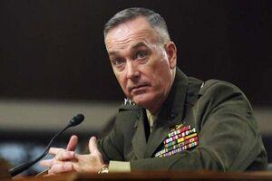 ژنرال دانفورد: طرح انگلیس در خلیج فارس مکمل اقدامهای آمریکاست