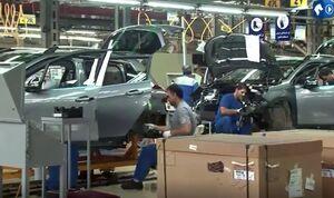 خط تولید پژو ۲۰۰۸ در ایرانخودرو
