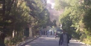 فیلم/ لحظه انفجار خودرو بمبگذاریشده در کابل