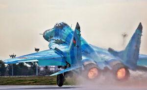 سقوط جنگنده آذری در دریای خزر
