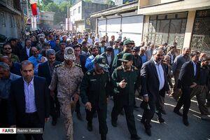 عکس/ سفر رئیس سازمان بسیج به کردستان