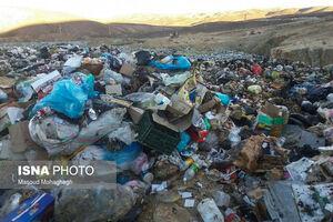 دپوی زبالههای مازندران در سمنان