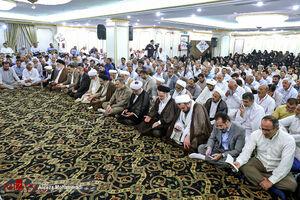 عکس/ مراسم دعای کمیل حجاج ایرانی در مدینه