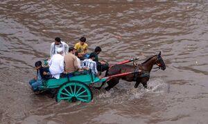 بارندگی مرگبار در پاکستان