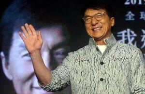 جکی چان در انتظار دریافت جایزه افتخاری «بفتا»