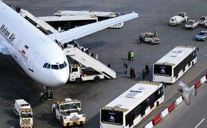 فرود اضطراری هواپیمای ماهان در فرودگاه مشهد