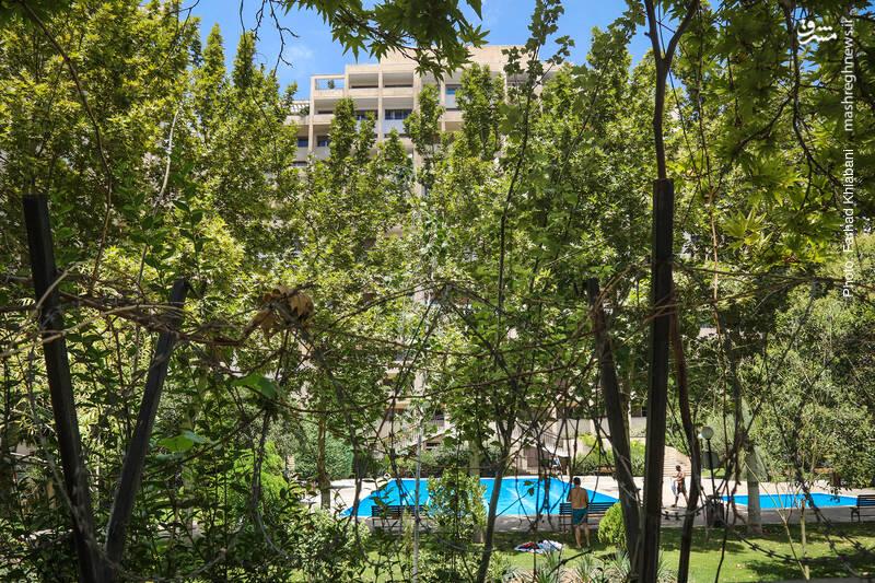 استخر منازل مسکونی در مناطق شمالی تهران