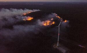 آتش سوزی ایالت براندنبورگ