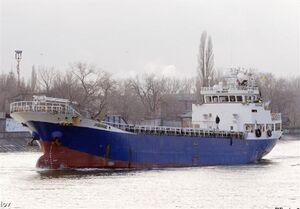 کشتی غرق شده ایرانی حامل ۹۰۰ تن کاشی و سرامیک به مقصد روسیه بود