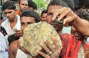 شهاب سنگ ۱۵ کیلویی در هند