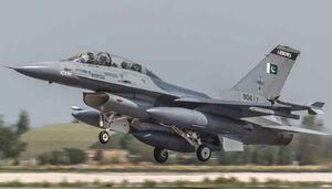 موافقت آمریکا با ادامه پشتیبانی ناوگان اف 16 پاکستان