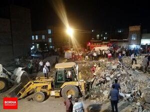 انفجار مرگبار در ورامین و ویران شدن یک ساختمان