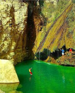 بوشهر - عسلویه - روستای اخند - آبشار درزو