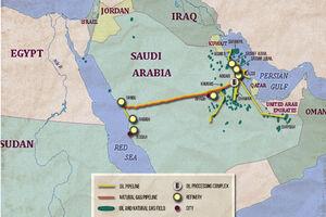 آیا توطئه عربستان برای دورزدن تنگه هرمز عملی میشود؟ + نقشه