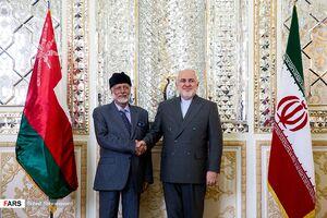 عکس/ دیدار وزرای خارجه عمان و ایران
