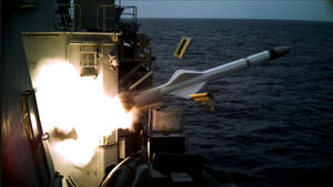 عکس/ تمرین موشکی نیروی دریایی مالزی