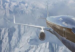فیلم/ فرود هنرمندانه هواپیما روی باند برفی!