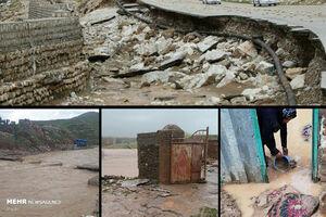 وضع سیلزدههای فروردین بهوقتِ مرداد +عکس
