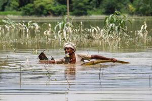 تصاویر جدید از سیل مرگبار هند