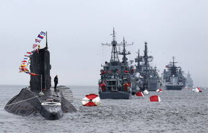 رزمایش مشترک دریایی روسیه و سوریه آغاز شد