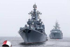 فیلم/ رزمایش ناوگان روسیه در اقیانوس آرام