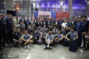عکس/ بازگشت سروقامتان غرورآفرین ایران