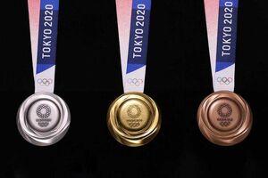 عکس/ رونمایی از مدالهای المپیک 2020 توکیو