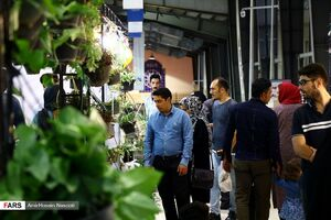 عکس/ نمایشگاه گل و گیاه زنجان