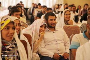 جشن ازدواج نوعروسان استان خراسان شمالی