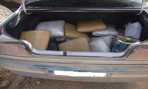 کشف ۳۳۴ کیلو مواد مخدر جاسازی شده در پژو